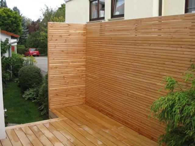... ~ Sichtschutz für alle Bereiche Egal ob Gartengrundstück, Terrasse