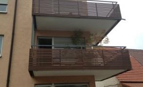 Balkonverkleidung Parallelogramm Thermoesche
